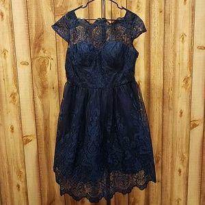 Modcloth Chi Chi London Exquisite Elegance Dress